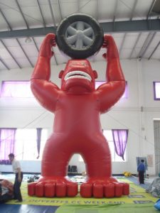 TYRE PROMO 8MH INFLATABLE HIRE SYDNEY