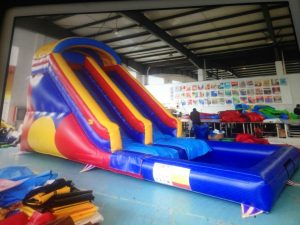 WATER SLIDES 8X4X4MH AGES 3 TO ADULTS
