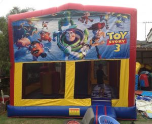 TOY STORY V2 5IN 1 COMBO 5X5M JUMPING CASTLE HIRE SYDNEY
