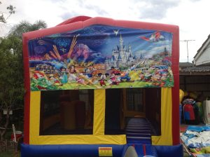 DISNEY CHARACTERS 5IN 1 COMBO 5X5M JUMPING CASTLE HIRE SYDNEY