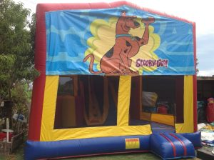 SCOOBY DOO V2 IN 1 COMBO 5X5M JUMPING CASTLE HIRE SYDNEY