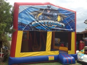 BATMAN 5IN 1 COMBO 5X5M JUMPING CASTLE HIRE SYDNEY