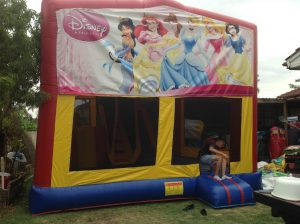 DISNEY PRINCESS 5IN 1 COMBO 5X5M JUMPING CASTLE HIRE SYDNEY