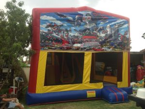 TRANSFORMERS 5IN 1 COMBO 5X5M JUMPING CASTLE HIRE SYDNEY
