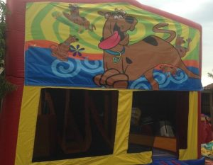 SCOOBY DOO 5IN 1 COMBO 5X5M JUMPING CASTLE HIRE SYDNEY