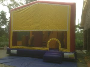 BLANK 5IN 1 COMBO 5X5M JUMPING CASTLE HIRE SYDNEY
