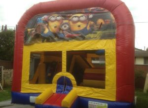 DESCPICABLE ME 5IN 1 COMBO 5X5M JUMPING CASTLE HIRE SYDNEY
