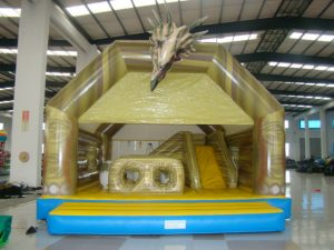 JARRASIC MANIA 8X8M JUMPING CASTLE SLIDE POP UPS AGES 2 TO ADULTS