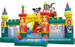 DISNEYLAND AND FRIENDS 12X7 JUMPING CASTLE AGES 2 TO 13