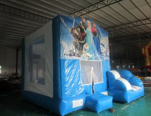 FROZEN V2 5IN 1 COMBO 5X5M JUMPING CASTLE HIRE SYDNEY