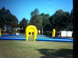 SOCCER FIELD 25X15M INFLATABLE HIRE SYDNEY