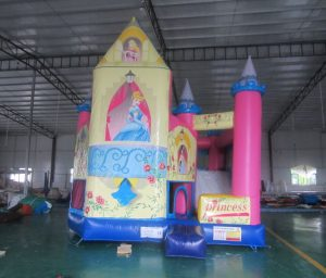 PINK PRINCESS V3 5IN 1 COMBO 5X5M JUMPING CASTLE HIRE SYDNEY