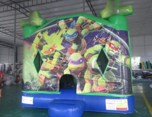 NINJA TURTLES V3 5IN 1 COMBO 5X5M JUMPING CASTLE HIRE SYDNEY