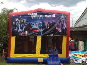TRANSFORMERS SEASON 2 5IN 1 COMBO 5X5M JUMPING CASTLE HIRE SYDNEY