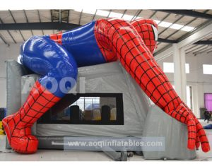 SPIDERMAN V3 5IN 1 COMBO 5X5M JUMPING CASTLE HIRE SYDNEY