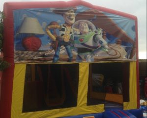 TOY STORY V1 5IN 1 COMBO 5X5M JUMPING CASTLE HIRE SYDNEY