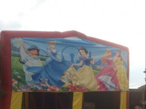 SNOW WHITE 5IN 1 COMBO 5X5M JUMPING CASTLE HIRE SYDNEY