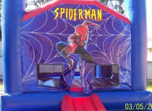 SPIDERMAN 4X4 PLAIN JUMPING CASTLES AGES FROM 1 TO 12