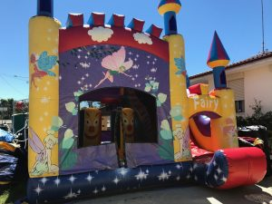 FAIRY 5IN 1 COMBO 5X5M JUMPING CASTLE HIRE SYDNEY