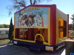 MADAGASCAR 5IN 1 COMBO 5X5M JUMPING CASTLE HIRE SYDNEY