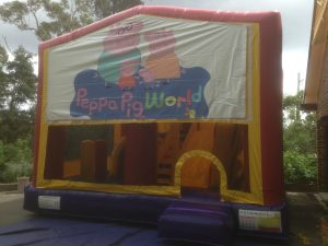 PEPPA PIG 5IN 1 COMBO 5X5M JUMPING CASTLE HIRE SYDNEY