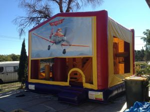 PLANES 5IN 1 COMBO 5X5M JUMPING CASTLE HIRE SYDNEY