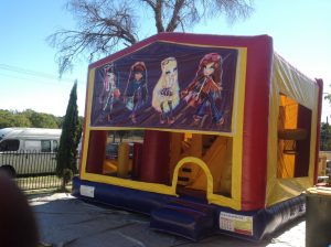 BRATZ 5IN 1 COMBO 5X5M JUMPING CASTLE HIRE SYDNEY