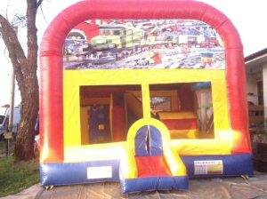 LEGOLAND 5IN 1 COMBO 5X5M JUMPING CASTLE HIRE SYDNEY